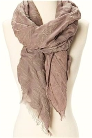wholesale textured burnout pattern scarf