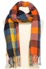 Wholesale Colorblock Blanket Scarf