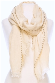Wholesale Metal Pearl Edged Shawl