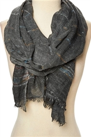 Wholesale Multicolor Stitch Stonewash Scarf