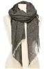 Wholesale Speckled Ash Tone Scarf