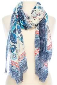 Wholesale Paisley Print Scarf