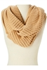 Wholesale Chunky Knit Infinity Loop Scarf