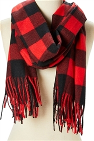 Wholesale Buffalo Plaid Scarves