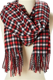 Wholesale Winter Plaid Scarves