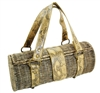 wholesale rattan handbag  snakeskin trim