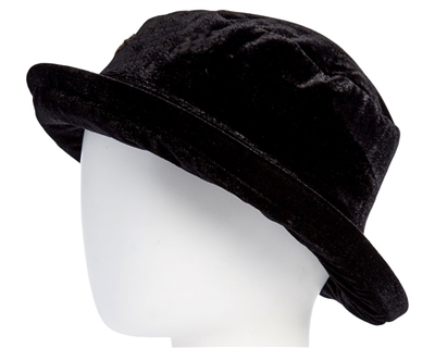 wholesale vintage velvet bucket hats for women winter