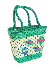 wholesale kids easter baskets - bulk childrens straw basket