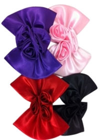 wholesale satin bows for hats