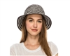 Wholesale Womens Bucket Hats - Striped Spring Hat