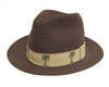 wholesale tropical panama fedora hats for women