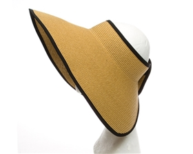 Oversized Sun Visor Hats Wholesale - Roll-Up Sun Visor Hat