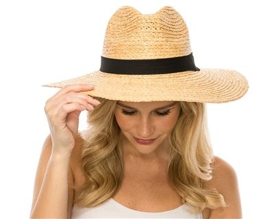 a58b2d061df1b7 Wholesale Organic Raffia Straw Hats - Floppy Sun Hat for Women