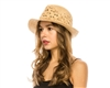 Wholesale Organic Raffia Straw Hats - Summer Fedoras