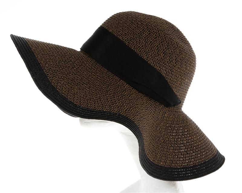 b636f75f2d1d48 Wholesale Large Floppy Hats - Womens Tweed Straw Sun Hat