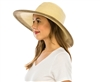 Wholesale Beach Hats Dyed Sun Hat Tied Band