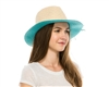 Wholesale Pop Color Underbrim Panama Hats
