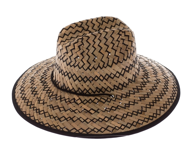 Wholesale Lifeguard Hats - UPF 50+ Straw Hats - Mens and Womens a56a8070f4ff