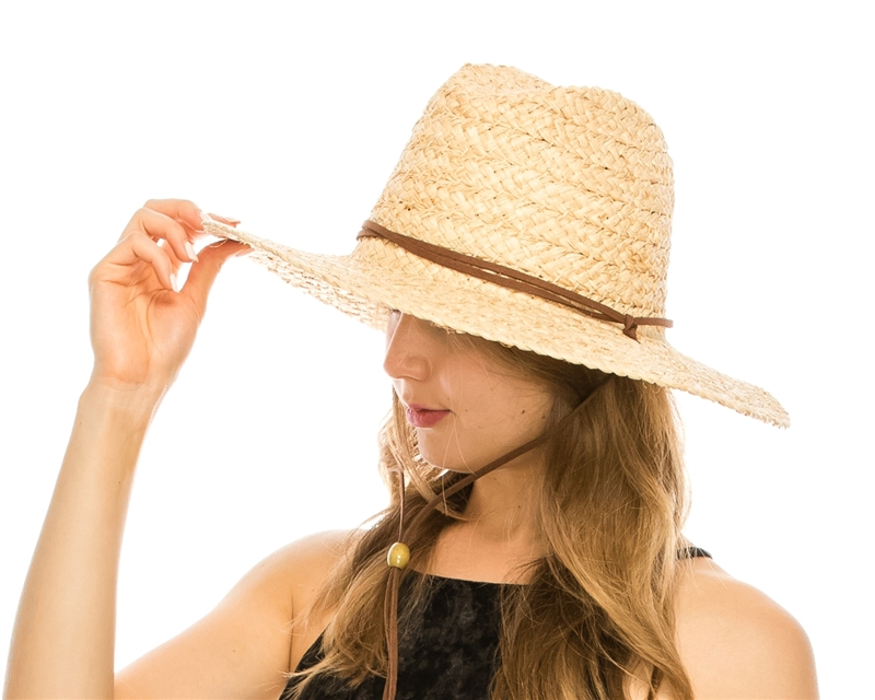 438a1e0cb1439 SKU  1770. Raffia straw lifeguard or surfer hat for women or men.