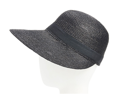 Wholesale Fine Straw Facesaver Cap Womens Beach Straw Sun Hat