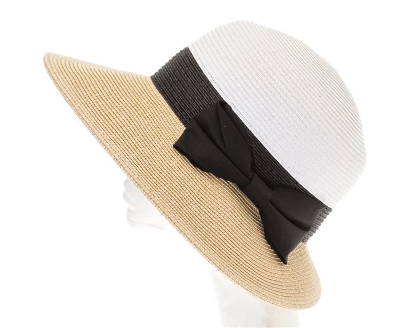 fd7752466 1781 Asymmetrical Colorblock Sun Hat
