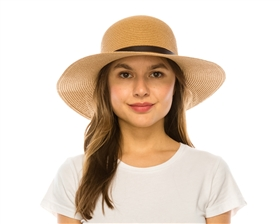 Wholesale Classic Belted Sun Hat