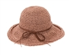 Wholesale Crochet Toyo Straw Upbrim Sun Hat Womens Beach Hat