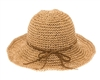 Wholesale Straw Crochet Toyo Sun Hats Womens Beach Hat