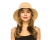 Wholesale Fine Raffia Straw Hats - Crochet Women's Bucket Hat