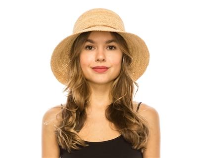 Wholesale Fine Raffia Straw Hats - Crochet Women s Bucket Hat 2ec5a7a10e2
