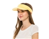 wholesale sun visors soft terry cloth womens visor