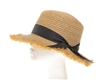 Wholesale Womens Boater Hats - Raffia Straw Skimmer Hat