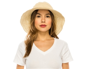 Wholesale Sun Hats Fine Crochet Straw Hat