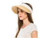 wholesale Raffia Straw Visor