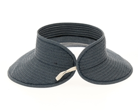 wholesale Denim Roll-Up Visor