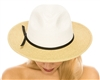 wholesale Colorblock Panama Hat