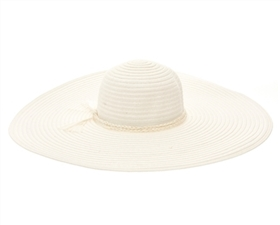 wholesale 6 inch brim hats - floppy straw hats