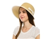 wholesale straw cloche hats - side bow