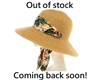 wholesale Convertible Sun Hat with Sash