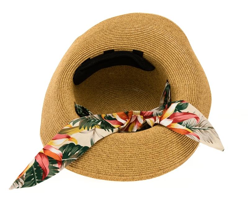 Wholesale Convertible Sun Hat with Sash a33df882cc4