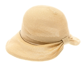 wholesale straw hats - pinched back bow hats metal chain - handmade sun hats wholesale
