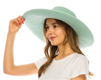 wholesale 5-inch Brim Straw Sun Hat