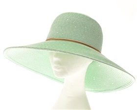 Wholesale Shimmery Lampshade Straw Hat
