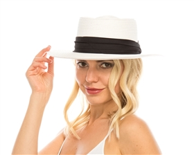 Wholesale Summer Gambler Hat