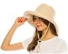 1863 Linen Blend Packable Sun hat
