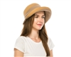 Wholesale Fine Straw & Fabric Cloche Hat