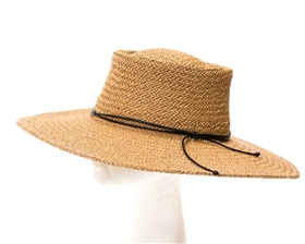 Wholesale Wide Brim Hats UPF 50+ Straw Bolero Sun Hat
