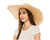 1873 Bao Straw Frayed Edge Hat