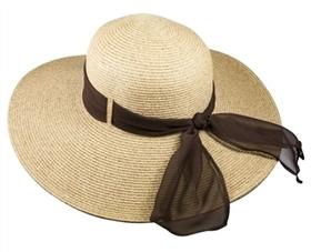 e26cdc769a6 upf 50 hats wholesale - wide brim straw beach hat with ribbon
