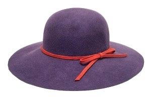 2036R Red   Purple Felt Floppy Hat 14ffd0d1adc
